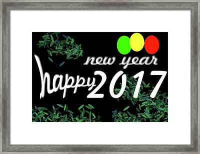 About New Year Framed Print