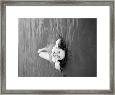 About Framed Print by Rachel Morrison