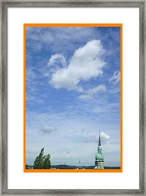 About Reaching The Sky Framed Print by Allen Rybo