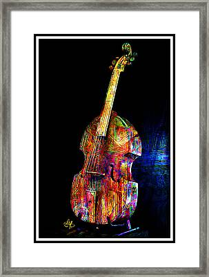 About That Bass Framed Print