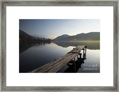 About To Rise Framed Print by Yuri Santin