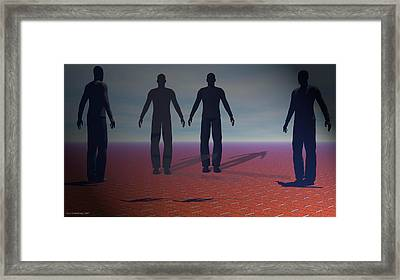 About Us Framed Print by Bers Grandsinge