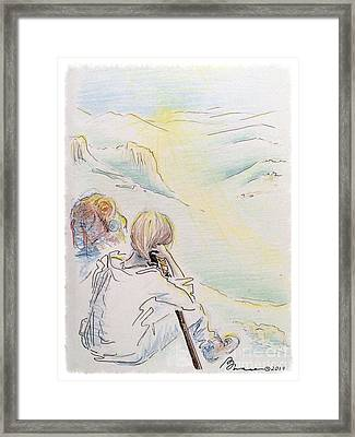 Above All Framed Print by Barbara Chase