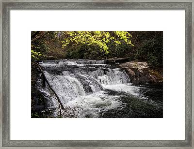 Above Bald River Falls Framed Print