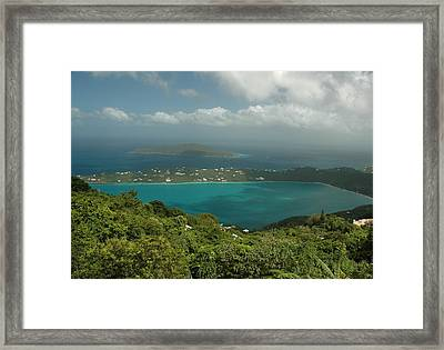 Above Beauty Framed Print by Lori Mellen-Pagliaro