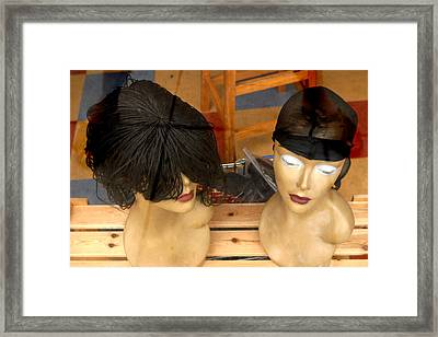 Above Both Of You Framed Print by Jez C Self
