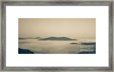 Above Everything Framed Print by Gabriela Insuratelu