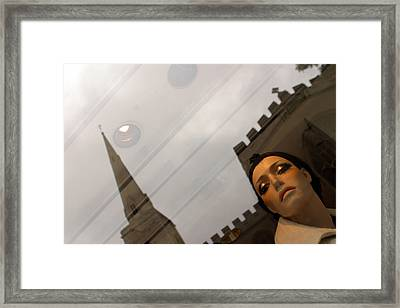 Above It All Framed Print by Jez C Self