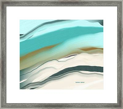 Above It All Framed Print