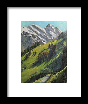 Switzerland Framed Prints