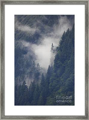 Above Juneau Framed Print