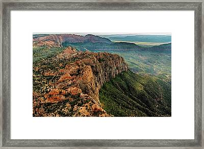 Above Kolob Terrace Framed Print by Loree Johnson
