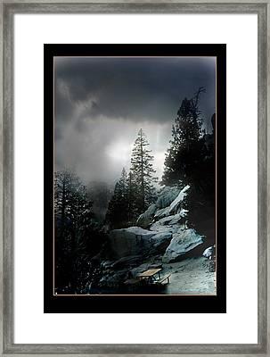 Above Palm Springs Framed Print by Richard Gordon
