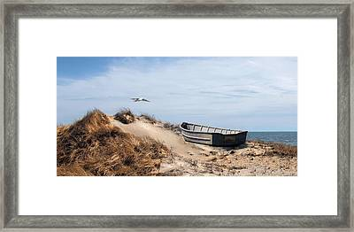 Framed Print featuring the photograph Above Sea Level by Robin-Lee Vieira