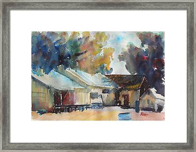 Above Sonora Framed Print by Jan Rapp