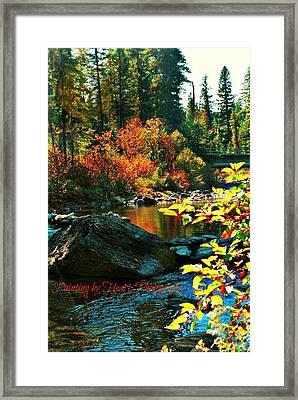 Above Tally Lake Framed Print