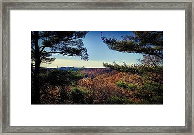 Above The Clarion River Framed Print