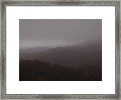 Above The Clouds Framed Print by James and Vickie Rankin