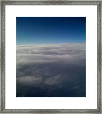 Above The Clouds Framed Print by Veronica Trotter