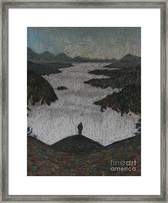 Above The Mist Framed Print by Andy  Mercer