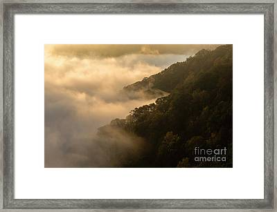 Framed Print featuring the photograph Above The Mist - D009960 by Daniel Dempster