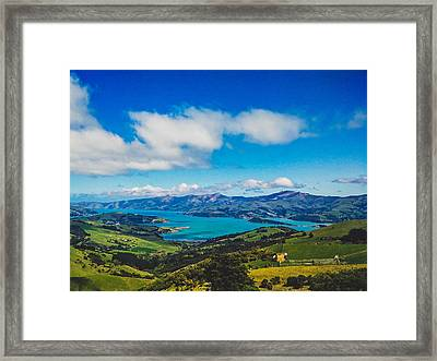 Above To Below Framed Print