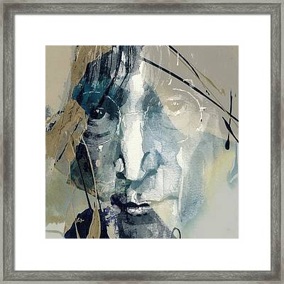 Above Us Only Sky  Framed Print by Paul Lovering
