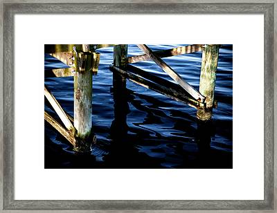 Framed Print featuring the photograph Above Water by Eric Christopher Jackson