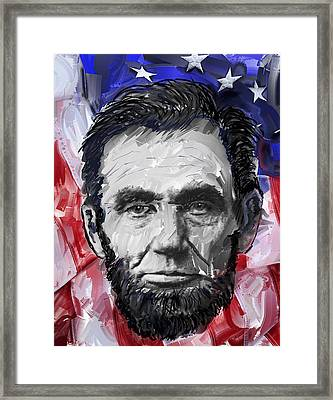Abraham Lincoln - 16th U S President Framed Print