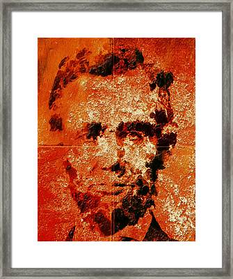 Abraham Lincoln 4d Framed Print by Brian Reaves