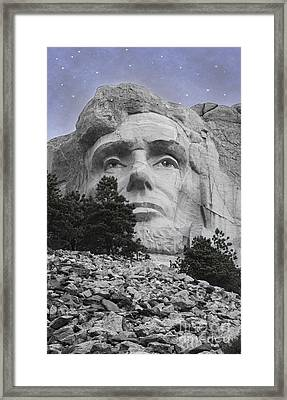 Abraham Lincoln Framed Print by Juli Scalzi
