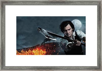 Abraham Lincoln Vampire Hunter Framed Print