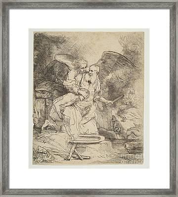 Abraham's Sacrifice Framed Print
