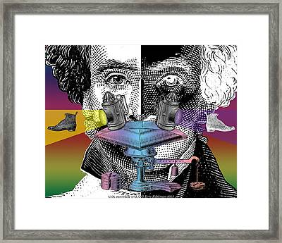 Absence And Presence Framed Print by Eric Edelman