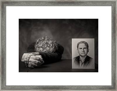 Absence Framed Print by Vito Guarino