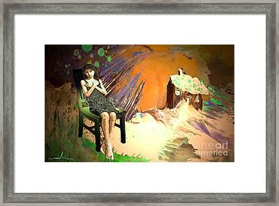 Absent Love Framed Print by Miki De Goodaboom