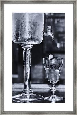 Absinthe Framed Print by Kathleen K Parker