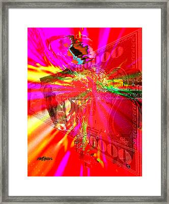 Absolute Power Corrupts Absolutely Framed Print by Seth Weaver