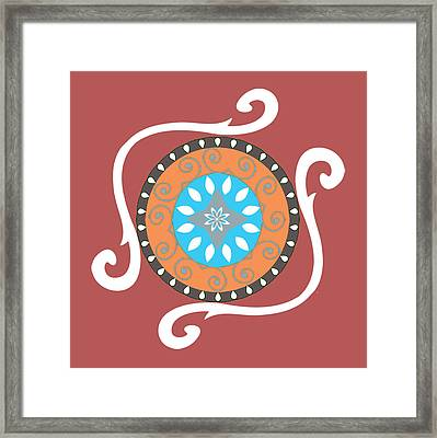 Absolute Suzani Framed Print