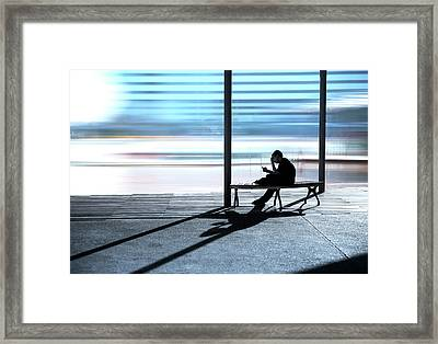 Absorbed Framed Print by Cho Me
