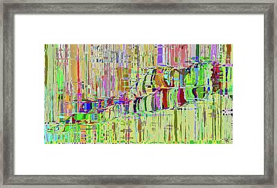 Absract Naked Long Framed Print