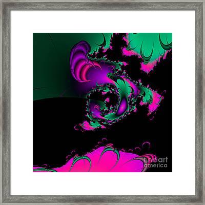 Abstact 07 A Tex Framed Print by Rolf Bertram