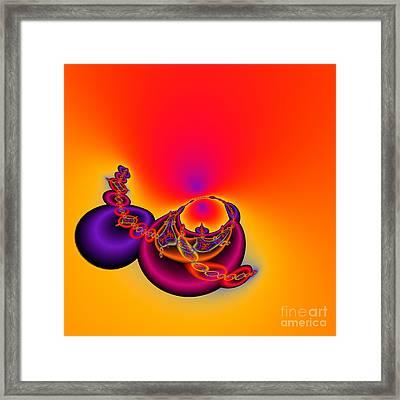Abstact 12 A Tex Framed Print by Rolf Bertram