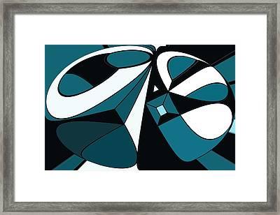 Abstrac7-30-09-a Framed Print by David Lane