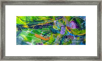 Abstract # 12015 Framed Print