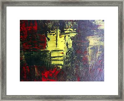 Abstract # 17 Framed Print by Fiona Dinali