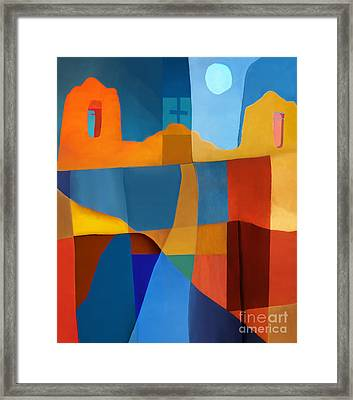 Abstract # 2 Framed Print