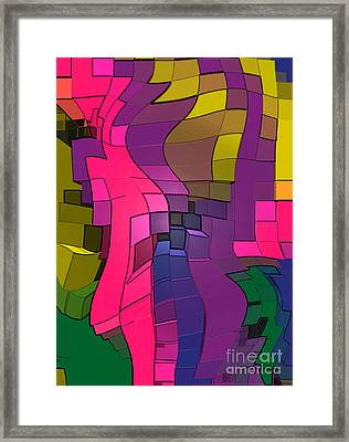 Abstract # 251 Framed Print
