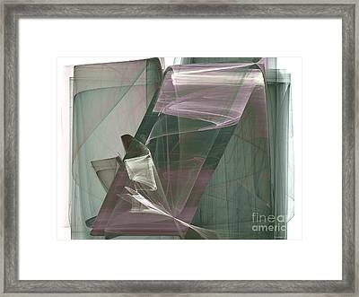 Abstract - Elegance Framed Print