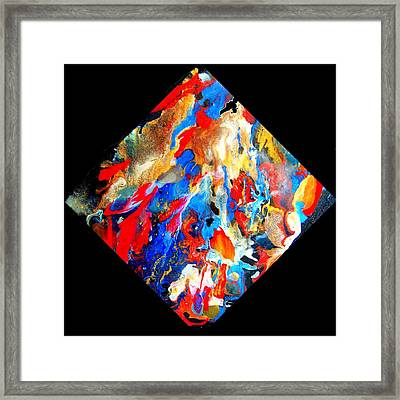 Abstract - Evolution Series 1001 Framed Print by Dina Sierra
